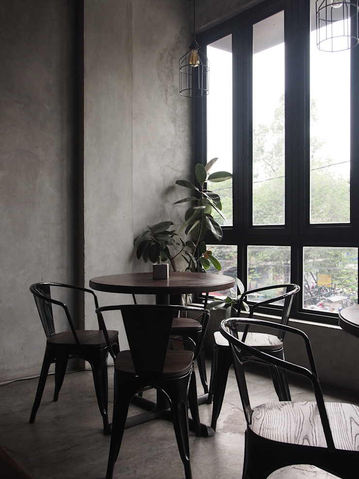 Spasi Architects Gastronomy Concrete Grey