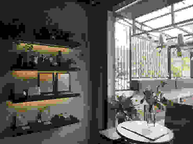 Spasi Architects Restaurantes Concreto Gris