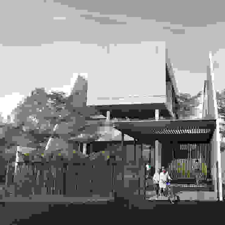 Tampak Depan Oleh Spasi Architects