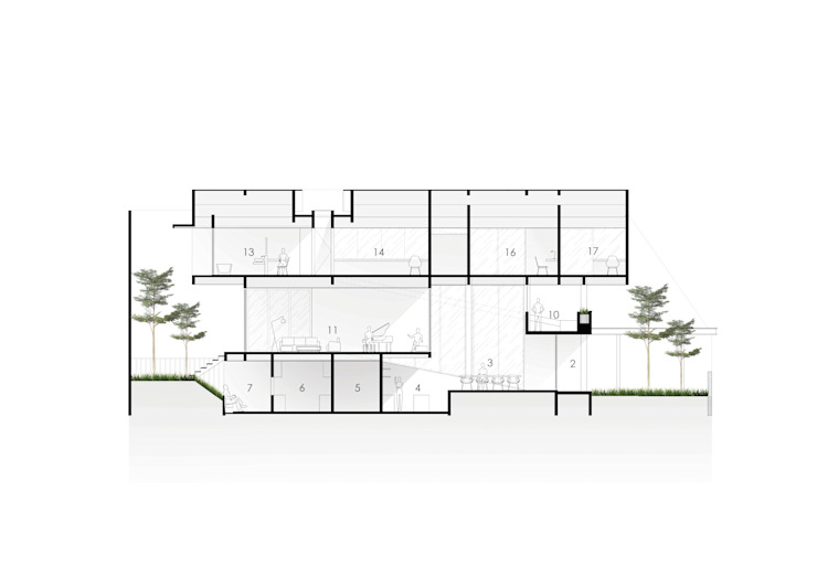Sections Oleh Spasi Architects