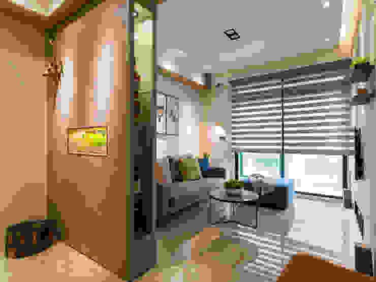 Moderne Wohnzimmer von 楊允幀空間設計 Modern