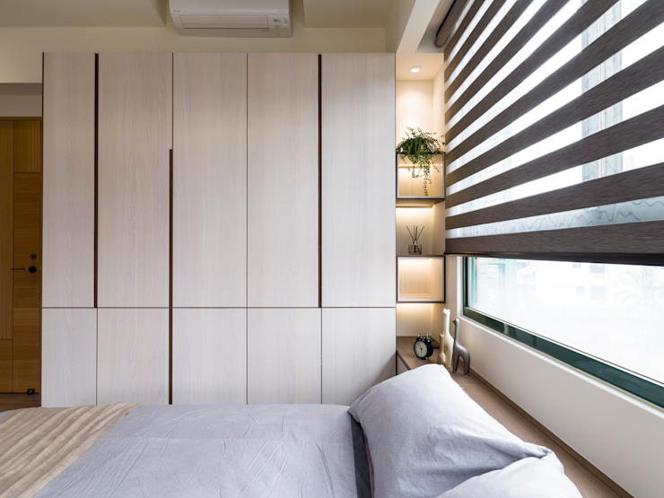 Modern style bedroom by 楊允幀空間設計 Modern