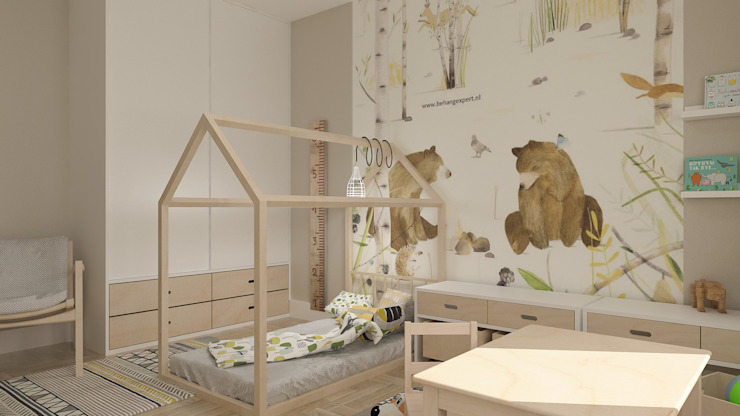 Modern Kid's Room by deco chata Modern