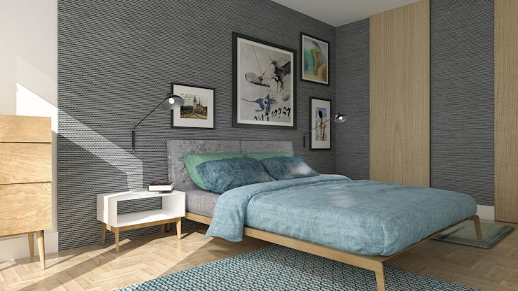 Modern Bedroom by deco chata Modern