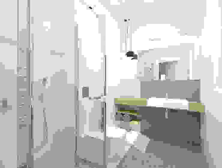 Modern Bathroom by deco chata Modern