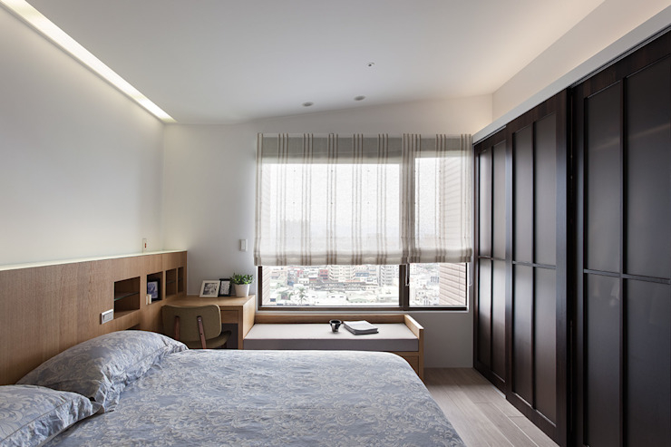 Bedroom by 禾光室內裝修設計 ─ Her Guang Design