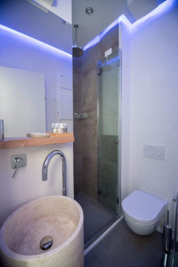 Moderne Hotels von Pietre di Rapolano Modern Stein