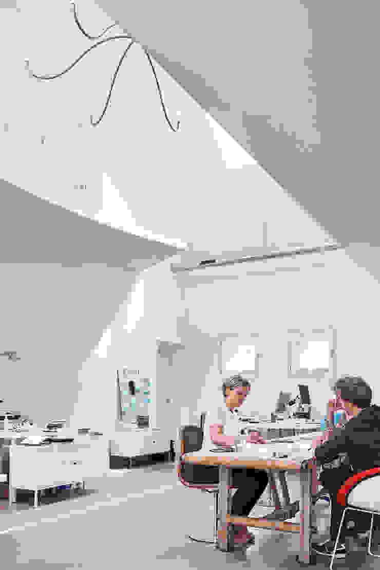 Kantoor Flim Architecten Moderne studeerkamer van MINT Architecten Modern