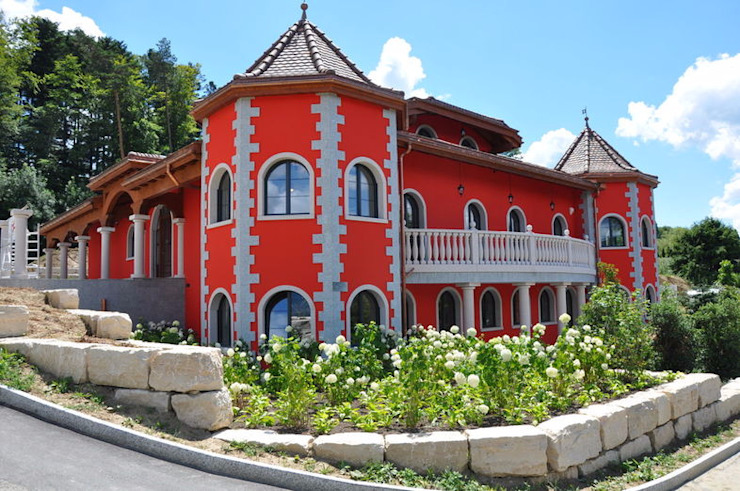 Pietre di Rapolano Villas Rojo