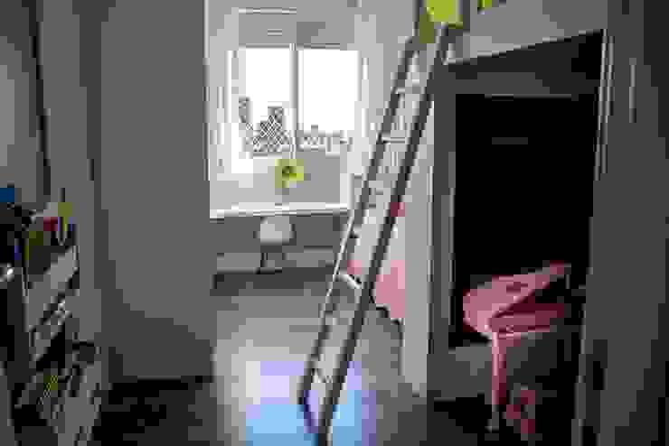 Dormitório Infantil - Riserva Schiavon Luiza Goulart Arquiteta Quartos das meninas Madeira Branco