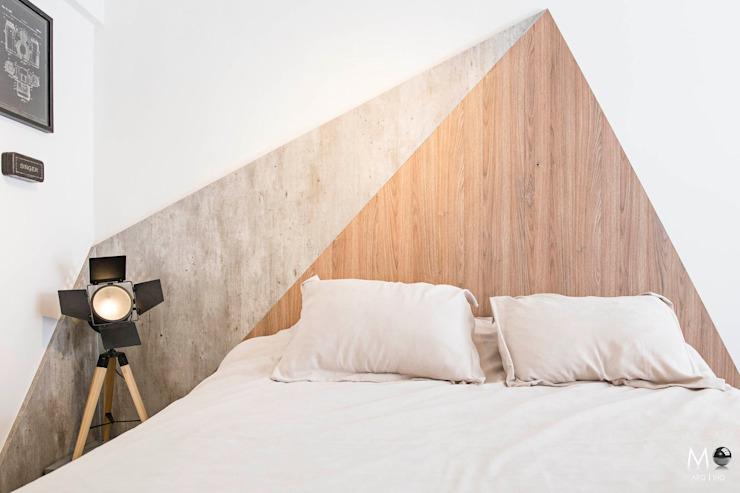 Modern style bedroom by estudio M Modern