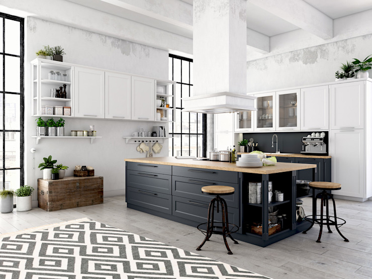 A Glance at our Kelim Collection Modern Kitchen by Nain Trading GmbH Modern