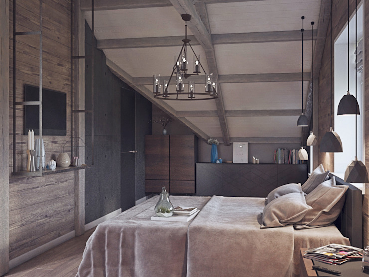 homify Chambre industrielle