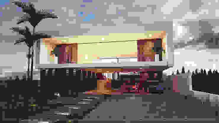 von 🔴 8HAUS - ARQUITETOS ASSOCIADOS 🔴 Modern Beton