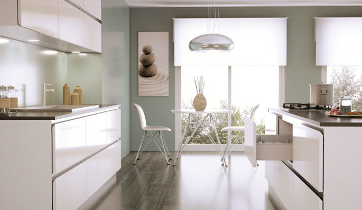 Cocilady Cocinas Built-in kitchens MDF White