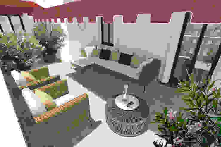 ADIdesign* studio Balconies, verandas & terraces Furniture