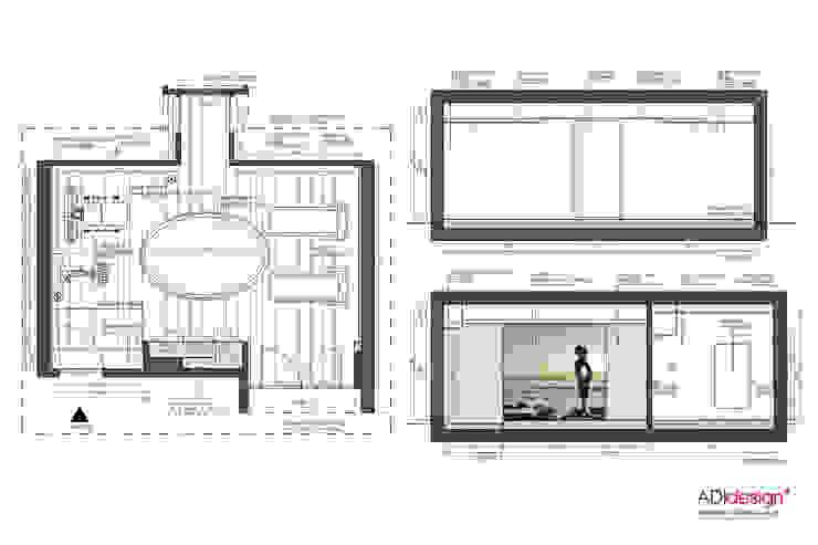 ADIdesign* studio Modern gym