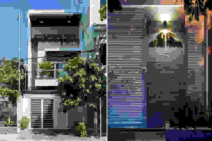 Casas estilo moderno: ideas, arquitectura e imágenes de VĂN PHÒNG KIẾN TRÚC PP Moderno