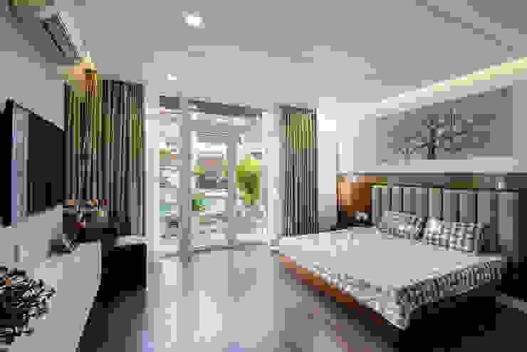 Dormitorios de estilo moderno de VĂN PHÒNG KIẾN TRÚC PP Moderno