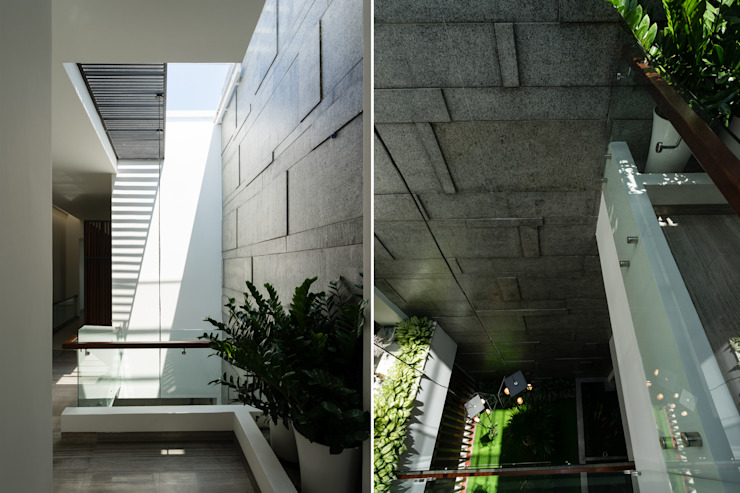 Paredes y pisos modernos de VĂN PHÒNG KIẾN TRÚC PP Moderno