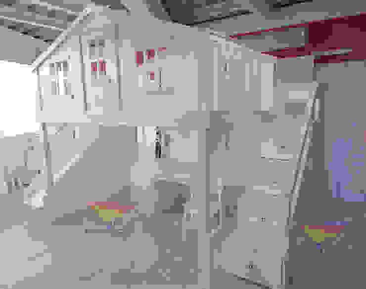 casita de la playa de camas y literas infantiles kids world Clásico