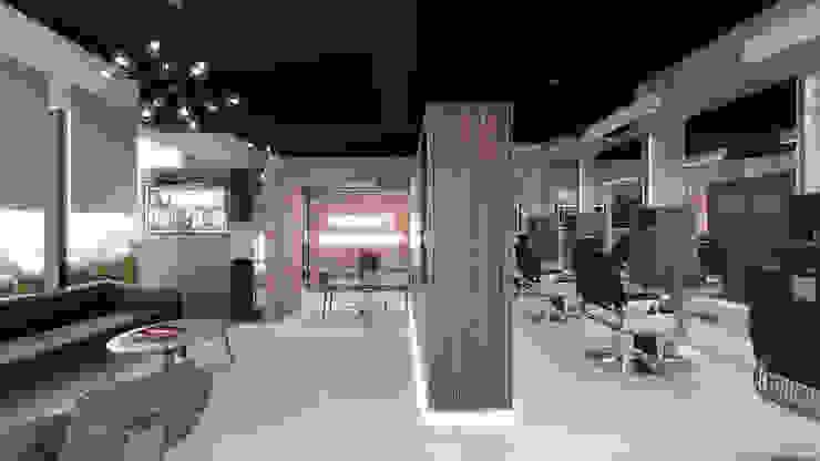 Taller Veinte Commercial Spaces Wood effect