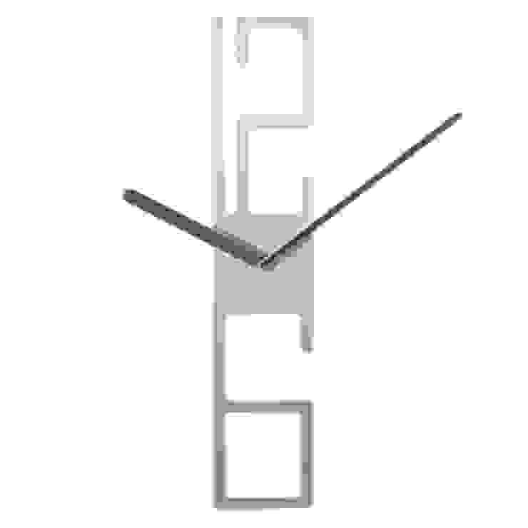 Karlsson 12/6 Wall Clock: modern  by Just For Clocks,Modern Aluminium/Zinc