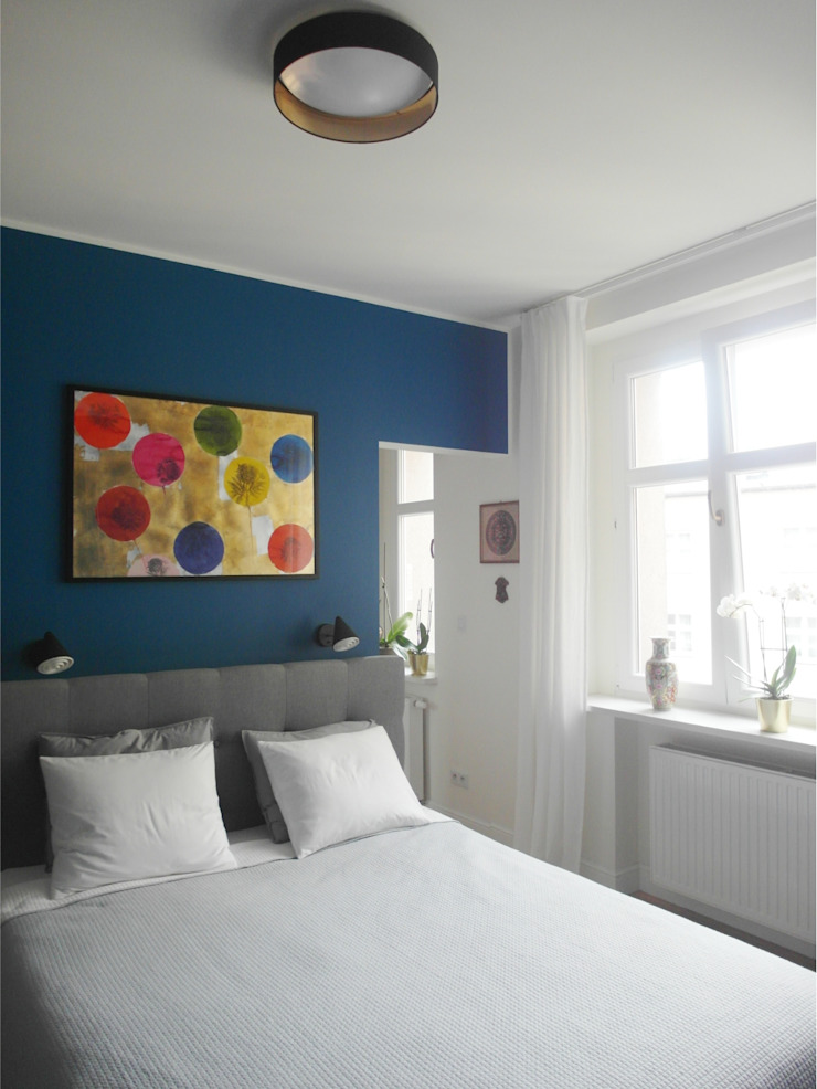 Eclectic style bedroom by NaNovo Eclectic