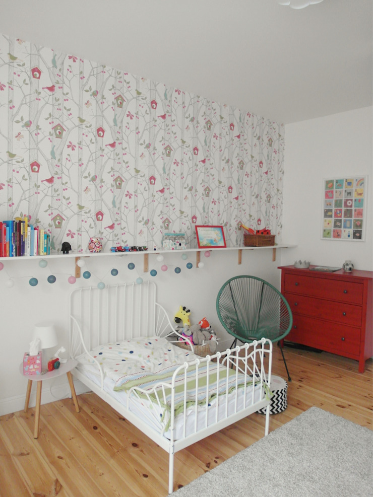 Eclectic style nursery/kids room by NaNovo Eclectic