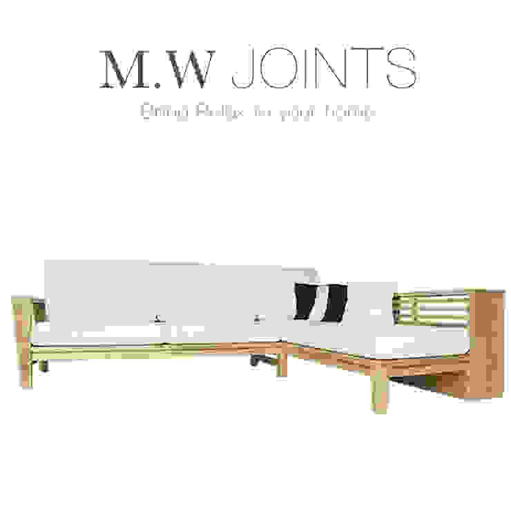 5D伍德系列 北歐L型沙發 M.W JOINTS |罕氏家居 客廳沙發與扶手椅 實木