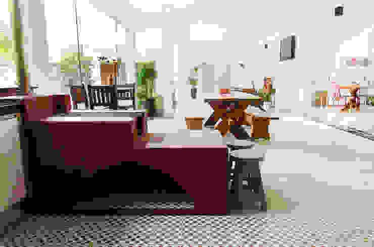Cocinas de estilo rústico de Flavio Vila Nova Arquitetura Rústico
