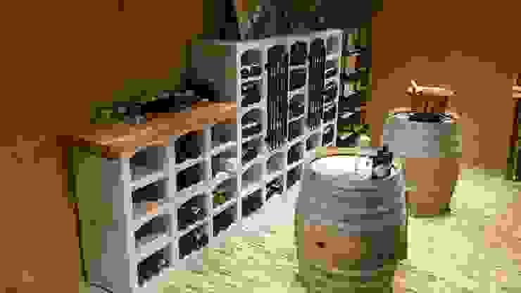 Vinicase wijnrek van Exaro Klassiek Steen