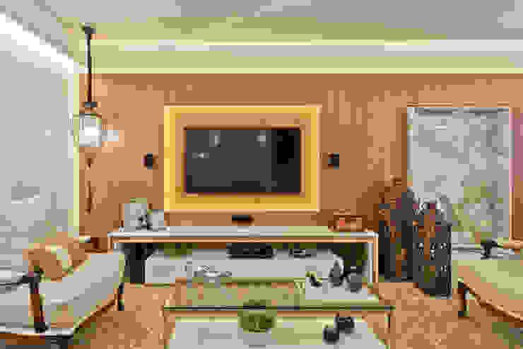 Moderne Wohnzimmer von Ana Crivellaro Modern Holz Holznachbildung