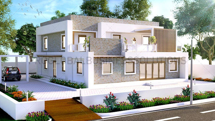 Architectural 3d Exterior Rendering by Proglobalbusinesssolutions