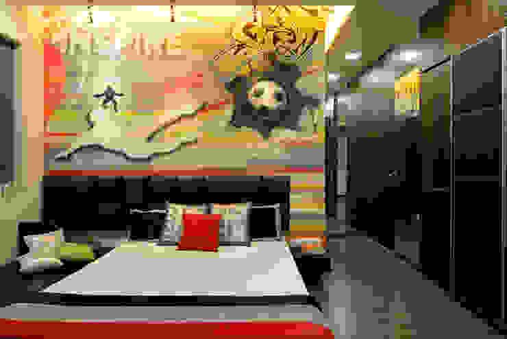 Matunga Apartment by Fourth Axis Designs Modern