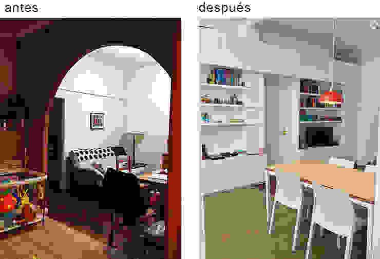 PH Charlone: Comedores de estilo  por Paula Mariasch - Juana Grichener - Iris Grosserohde Arquitectura