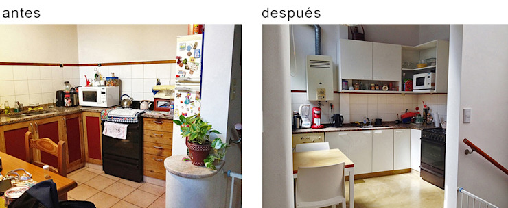 PH Charlone: Cocinas a medida  de estilo  por Paula Mariasch - Juana Grichener - Iris Grosserohde Arquitectura