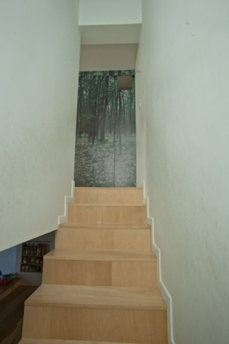 Couloir, entrée, escaliers modernes par Paula Mariasch - Juana Grichener - Iris Grosserohde Arquitectura Moderne