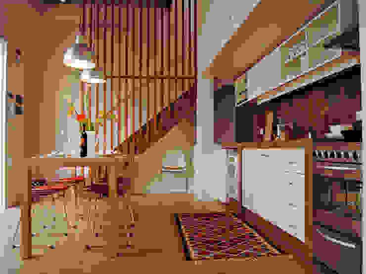 Modern Dining Room by Paula Mariasch - Juana Grichener - Iris Grosserohde Arquitectura Modern