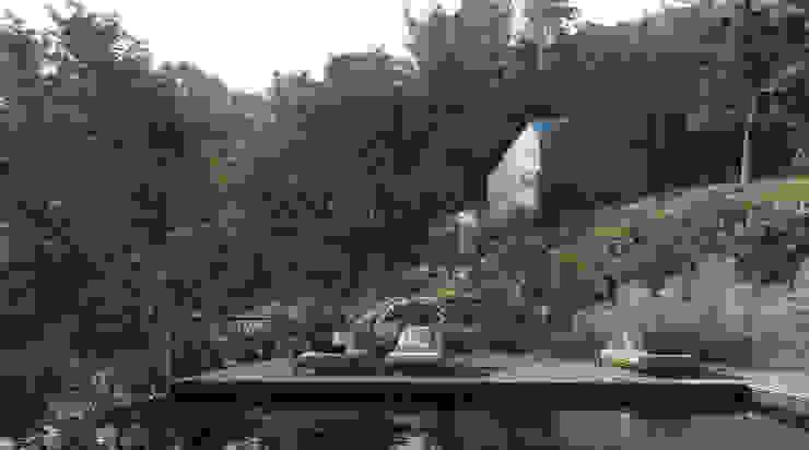 Proposta - piscina, spa e capela por David Bilo | Arquitecto Campestre