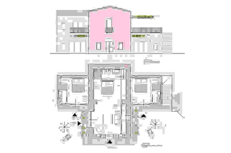 ADIdesign* studio Rustic style living room