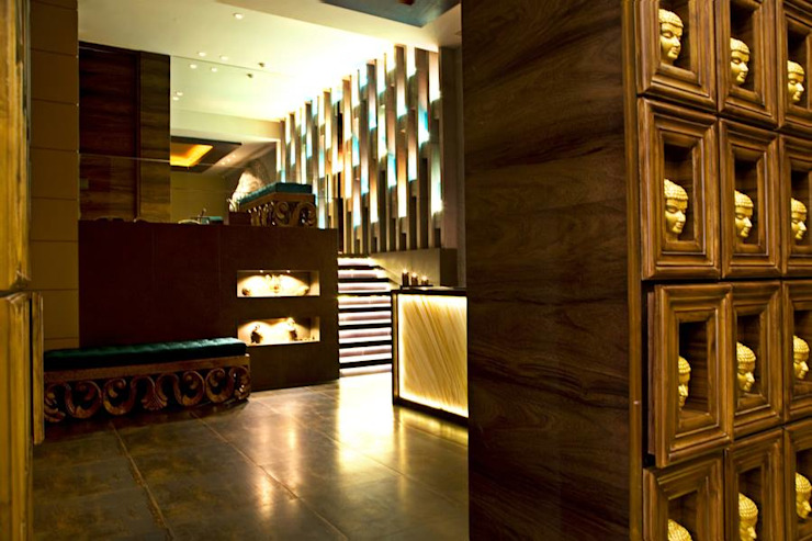 Mudraa Spa- Nariman Point by Fourth Axis Designs Rustic