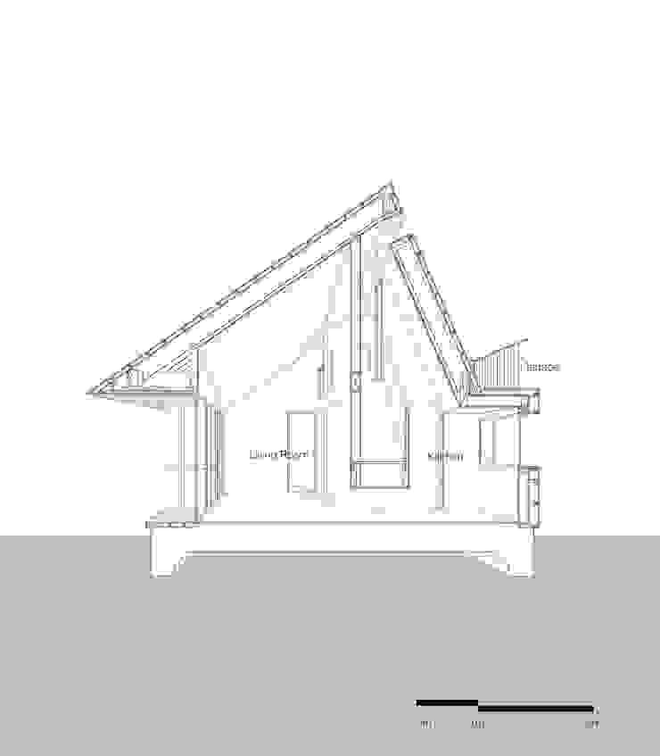 Shear House: stpmj의 현대 ,모던