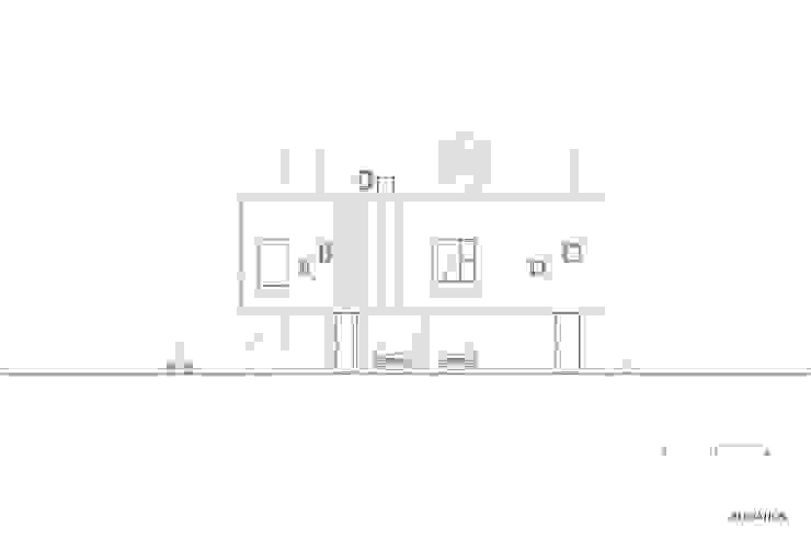 붐박스 하우스 (Boombox House): 투엠투건축사사무소의 현대 ,모던