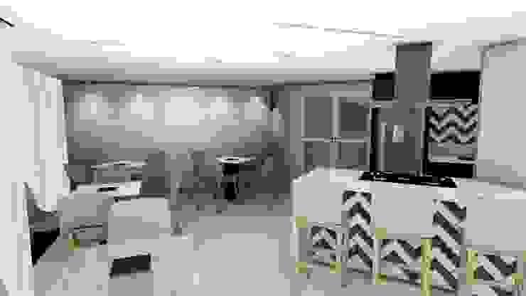 Salão de festas Studio² Salas de jantar modernas