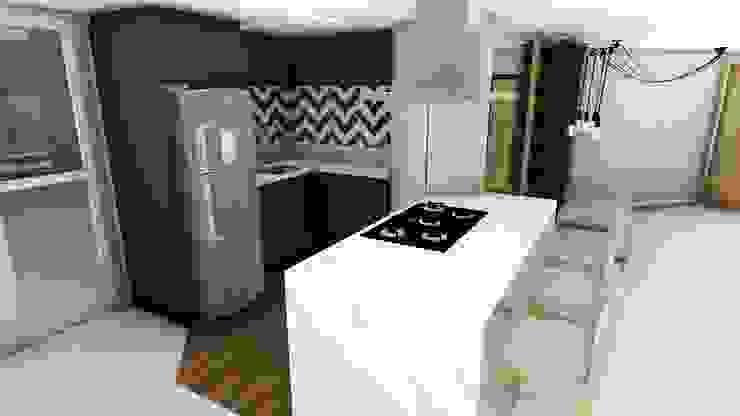 Cozinha Goumet Studio² Armários e bancadas de cozinha