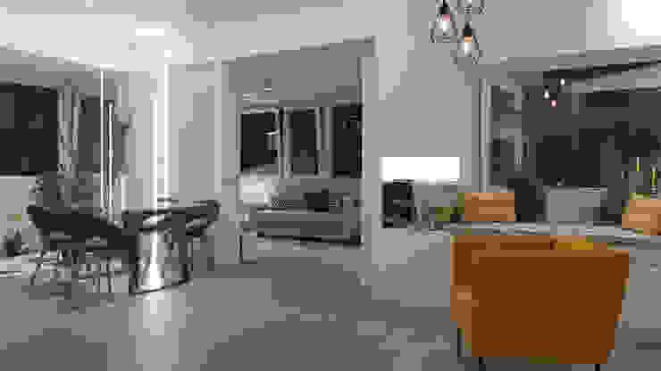 A2pa Salas de estilo moderno Blanco