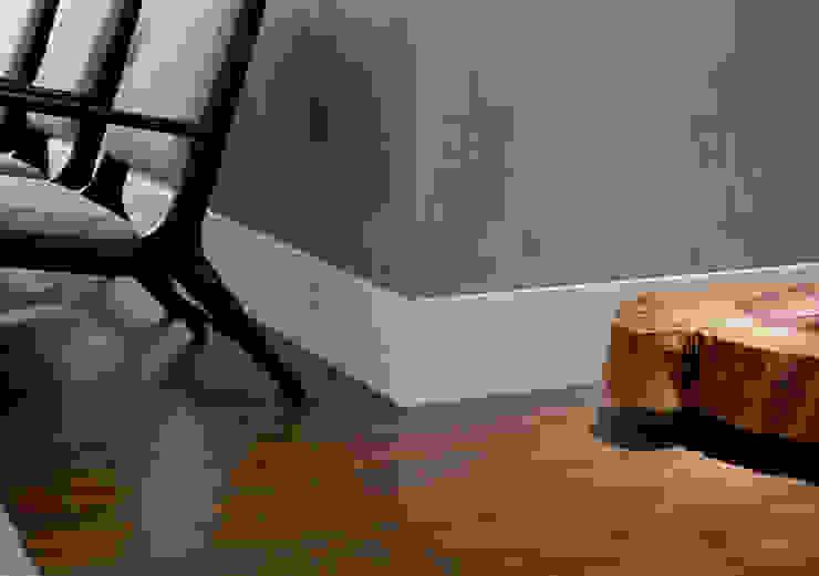 Rodapé Pormade em PVC Wood Pormade Parede e pavimentoCores e acabamentos