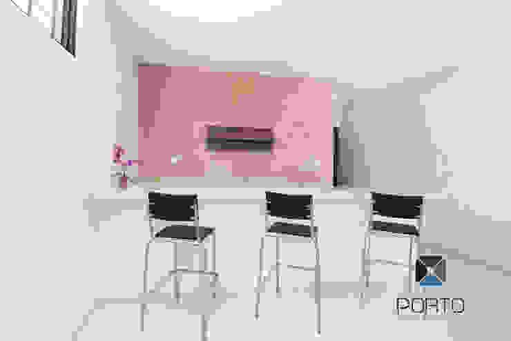 PORTO Arquitectura + Diseño de Interiores Cocinas de estilo minimalista