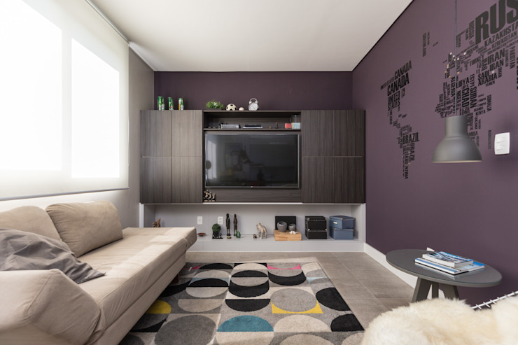 Modern Living Room by Rabisco Arquitetura Modern MDF